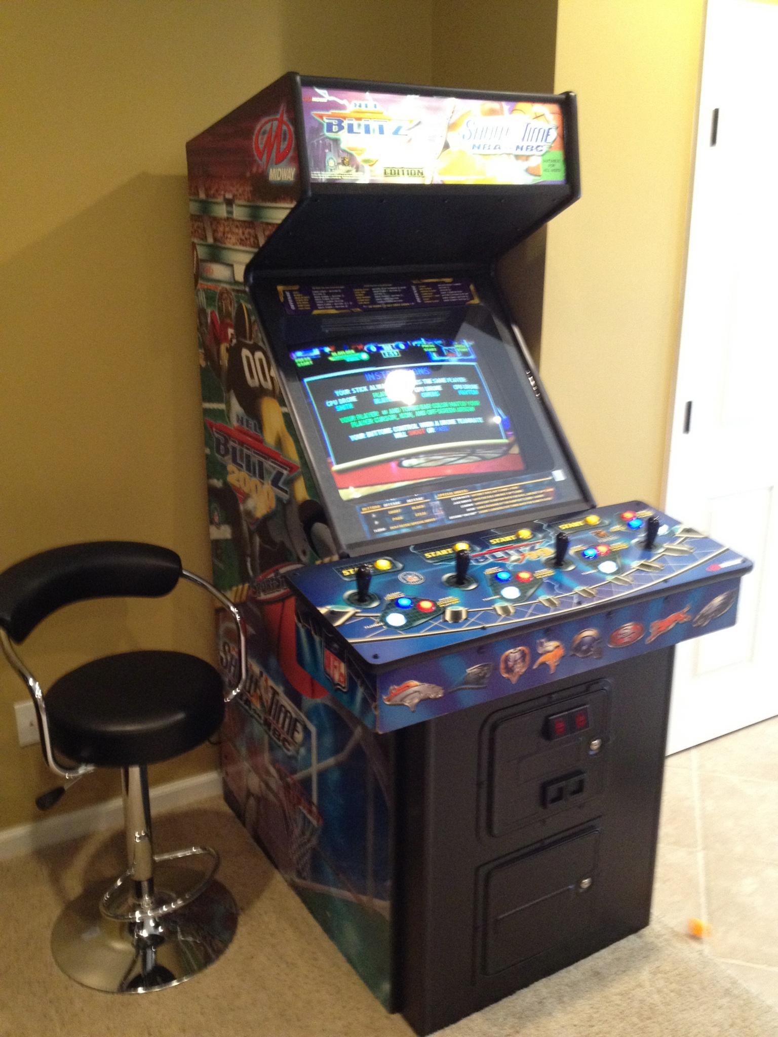 Nfl Blitz Castle Classic Arcade