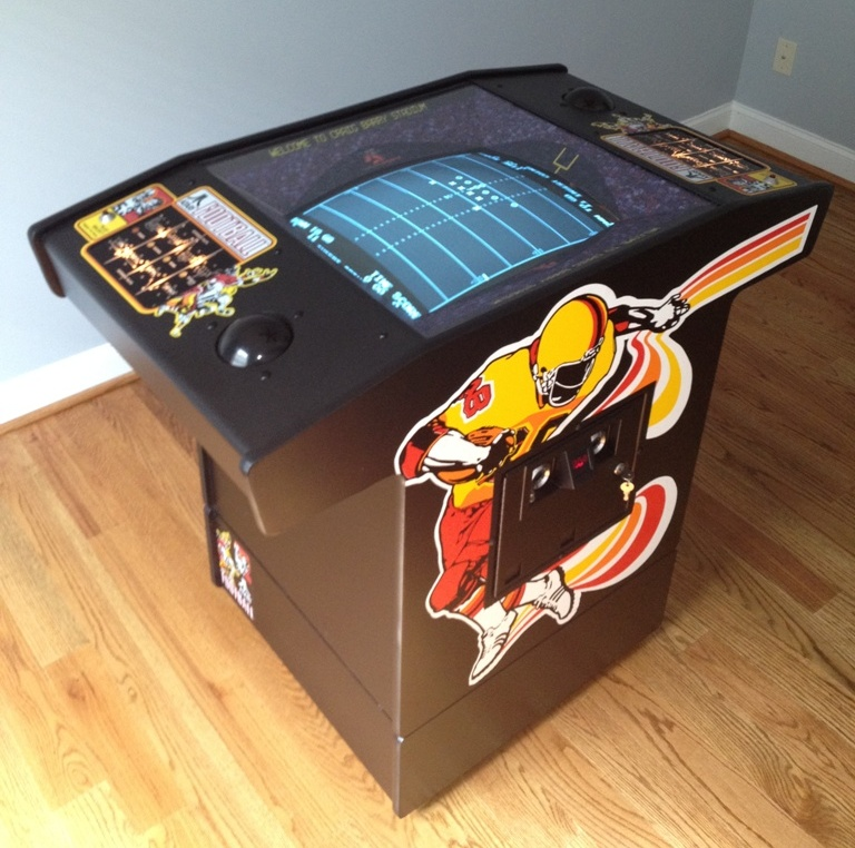 Atari Football Restoration Castle Classic Arcade