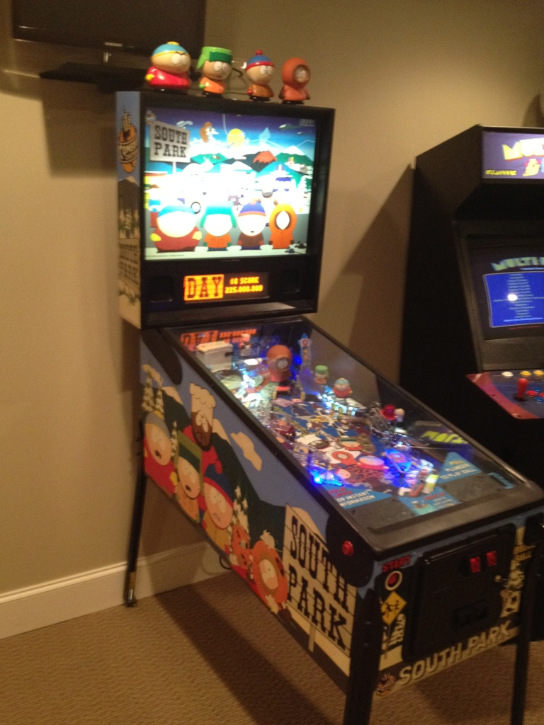 South Park Pinball Restoration Castle Classic Arcade