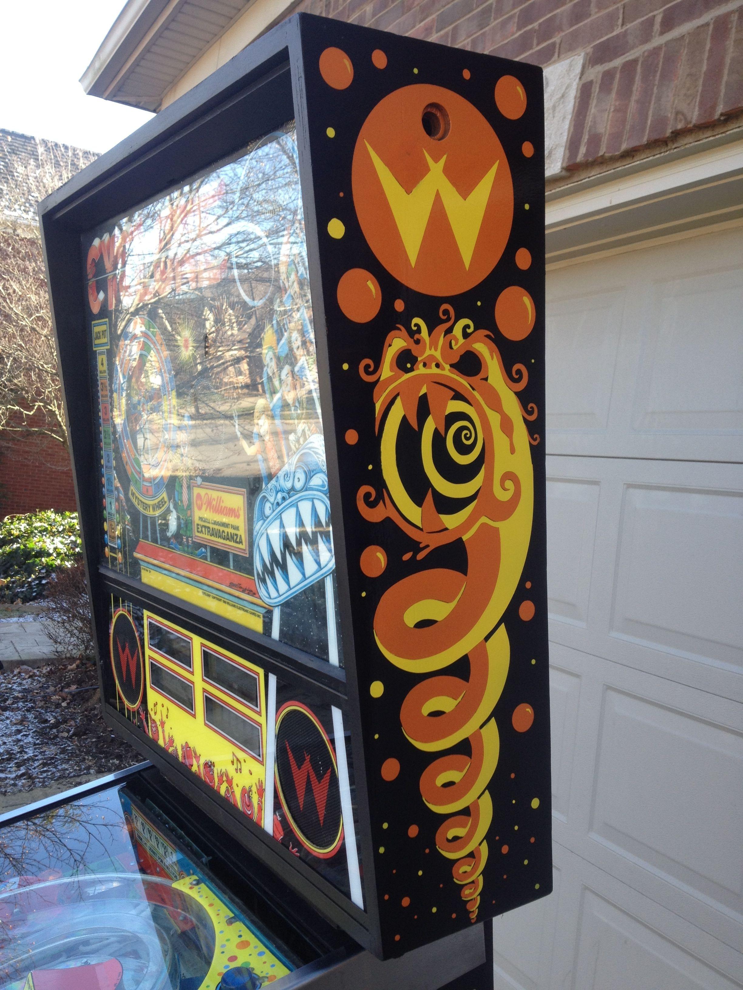Cyclone Williams 1988 Pinball Castle Classic Arcade